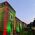 Castello Sforzesco maggio 2020 Tricolore Covid 01.jpg