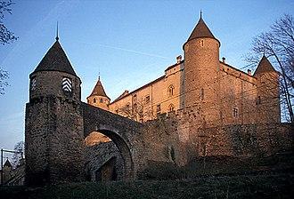 Grandson, Switzerland - Grandson castle