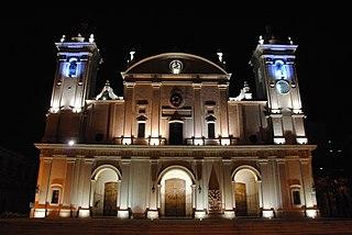 Church in Asunción, Paraguay
