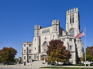 Scottish Rite Cathedral (Indianapolis) United States historic place