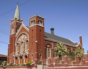 Cathedral Parish of Saint Patrick (El Paso, Texas) - Image: Cathedral Parish of St Pat, El Paso