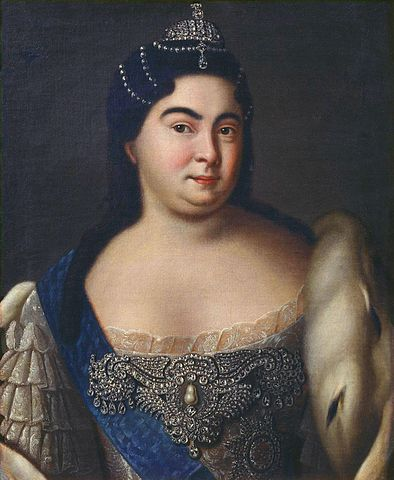 Екатерина I. Портрет неизвестного художника.