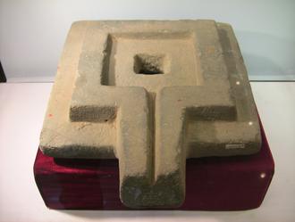 Yoni - A stone yoni found in Cát Tiên sanctuary, Lâm Đồng, Vietnam