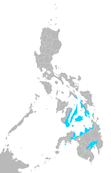 Cebuano language map.png