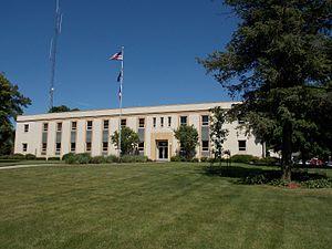Cedar County Courthouse (Iowa) - Cedar County Courthouse