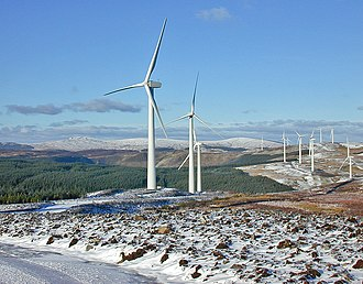 Cambrian Mountains - Cefn Croes wind farm