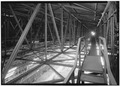 Ceiling, looking west. - Goodyear Airdock, 1210 Massillon Road, Akron, Summit County, OH HAER OHIO,77-AKRO,6-23.tif