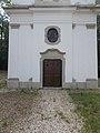 Celli Szűz Mária kápolna, bejárat, 2018 Majkpuszta.jpg