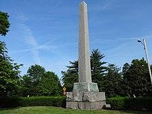 fa0214857cad The James Robertson obelisk in Centennial Park, Nashville, Tennessee.