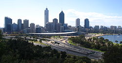 Central Perth from Kings Park