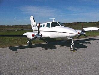 Cessna 402 - Image: Cessna 402C FFAP02