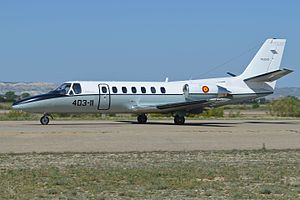 Cessna Citation V 'TR.20-01 - 403-11' (27128561880).jpg