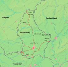 Territorio Lussemburgo Cartina Fisica.Lussemburgo Wikivoyage Guida Turistica Di Viaggio