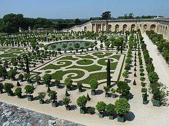 Orangery - Versailles Orangerie built between 1684 and 1686.