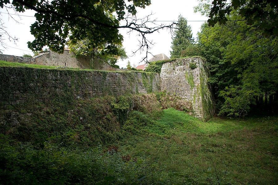Châteauvieux-les-Fossés - remparts