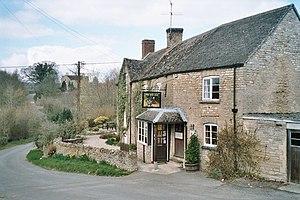 Chadlington - The Tite Inn public house, trading again since 2012