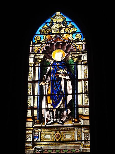 Chailles (Loir-et-Cher) église, vitrail 4