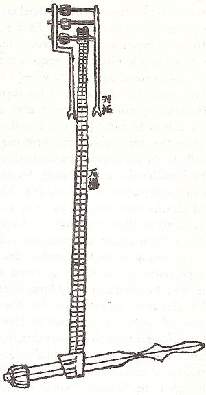 Chain drive - Oldest known illustration of an endless power-transmitting chain drive, from Su Song's book of 1092 AD, describing his clock tower of Kaifeng