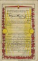 Chain letter postcard, three spaces for autographs and a note, then to be sent to original sender (NBY 421669).jpg