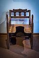 Chaise d'accouchement alsacienne Musée alsacien Strasbourg juillet 2014 02a.jpg