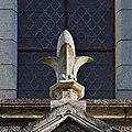 Chalais 16 Chapelle N.D. extérieur Poinçon fleur de lys 2013b.jpg