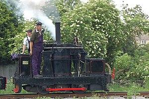 De Winton - Chaloner a De Winton Loco resident at the Leighton Buzzard Light Railway