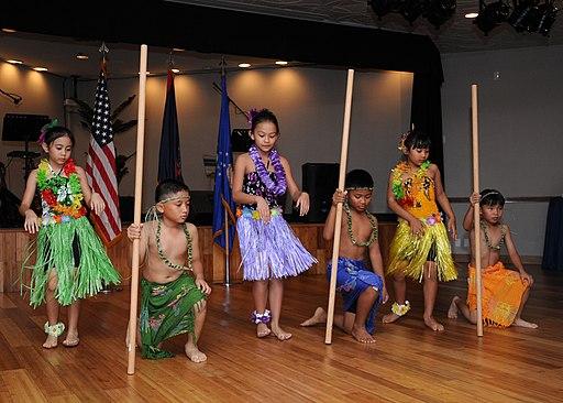 Chamorro children