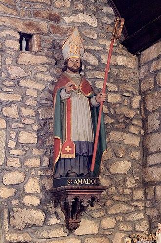 Amator - St. Amador, Chapelle de Locadour, Kervignac