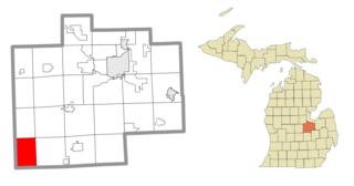 Chapin Township, Michigan Civil township in Michigan, United States