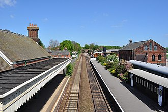 East Anglian Railway Museum - The museum and station