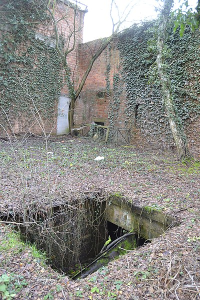 Ancient pit of the Belle-Vue et Bienvenue coal mine in Herstal, Belgium