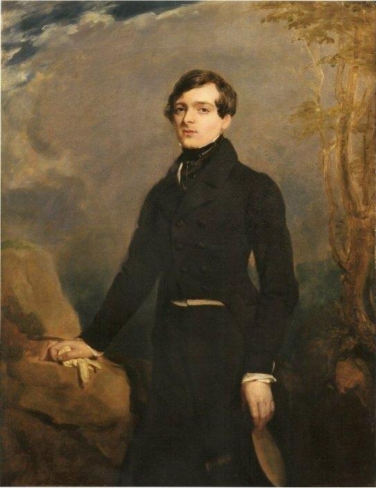 Charles-Etienne-Raymond-Victor de Verninac by Delacroix