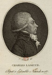 Charles Malo François Lameth French general and politician