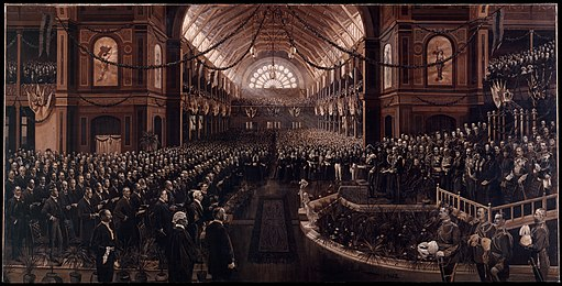 Charles Nuttal - The Opening of the First Commonwealth Parliament - Google Art Project