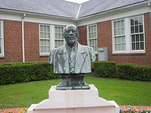 Grambling State University - Bust of Charles P. Adams, the founder and first president of Grambling State University