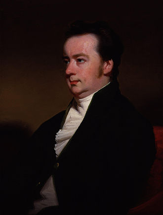 Charles Metcalfe, 1st Baron Metcalfe - Portrait by George Chinnery, early 1820s