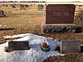 Charles and Catharina Kostboth graves in Canistota, South Dakota.JPG