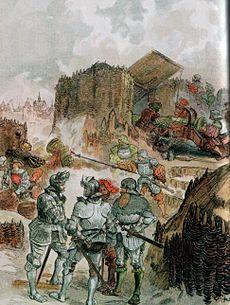 Charleville-Mezieres Siege de 1521 Gustave Toudouz 1909.jpg
