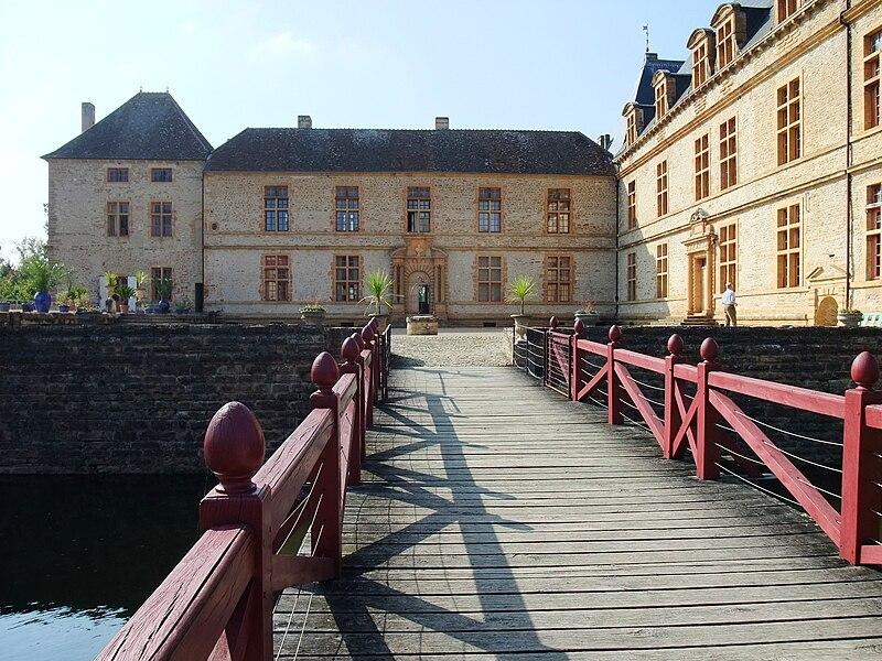 Château de Cormatin in Burgundy, France