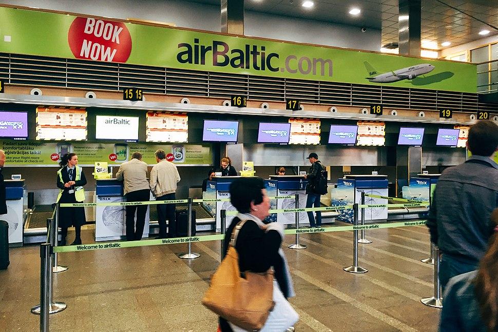 Check-In at Riga Airport