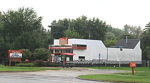 Checkers and Rally's - Checkers Drive-In (originally a Rally's), Taylor, Michigan