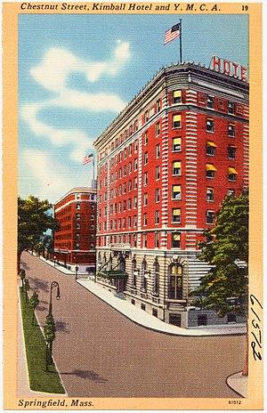 Hotel Kimball - Historic postcard: Kimball Hotel