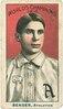 Chief Bender, Philadelphia Athletics, baseball card portrait LCCN2007683815.tif