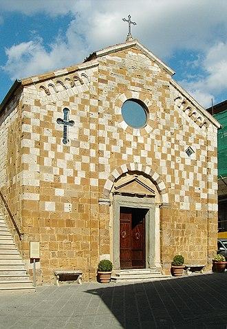Trequanda - Parish church of Sts. Peter and Paul