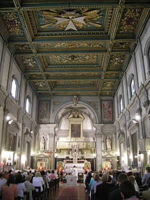 Santi Simone e Giuda, Florence - Interior