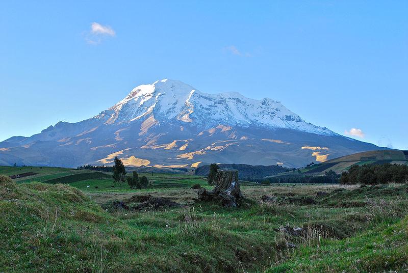 File:Chimborazo desde San Juan.jpg