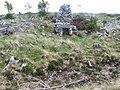 Chimney remains beside Lochstrathy track - geograph.org.uk - 1340399.jpg