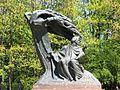 Chopin monument Warsaw Lazienki Park.jpg