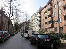 Christian-Förster-Straße in Hamburg