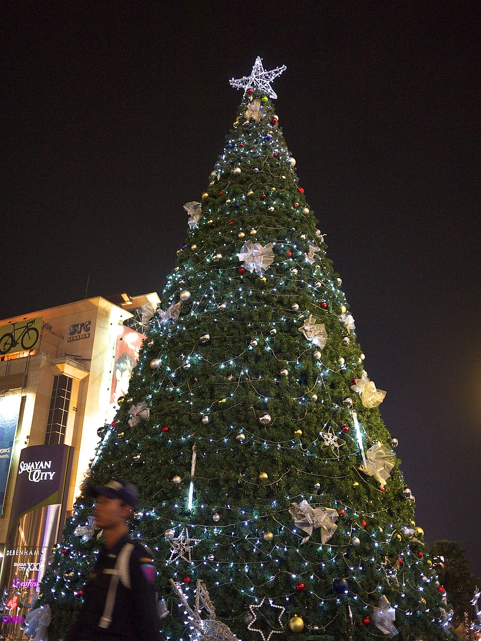 Christmas tree Senayan City